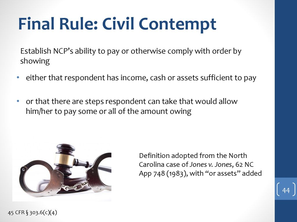 civil contempt definition