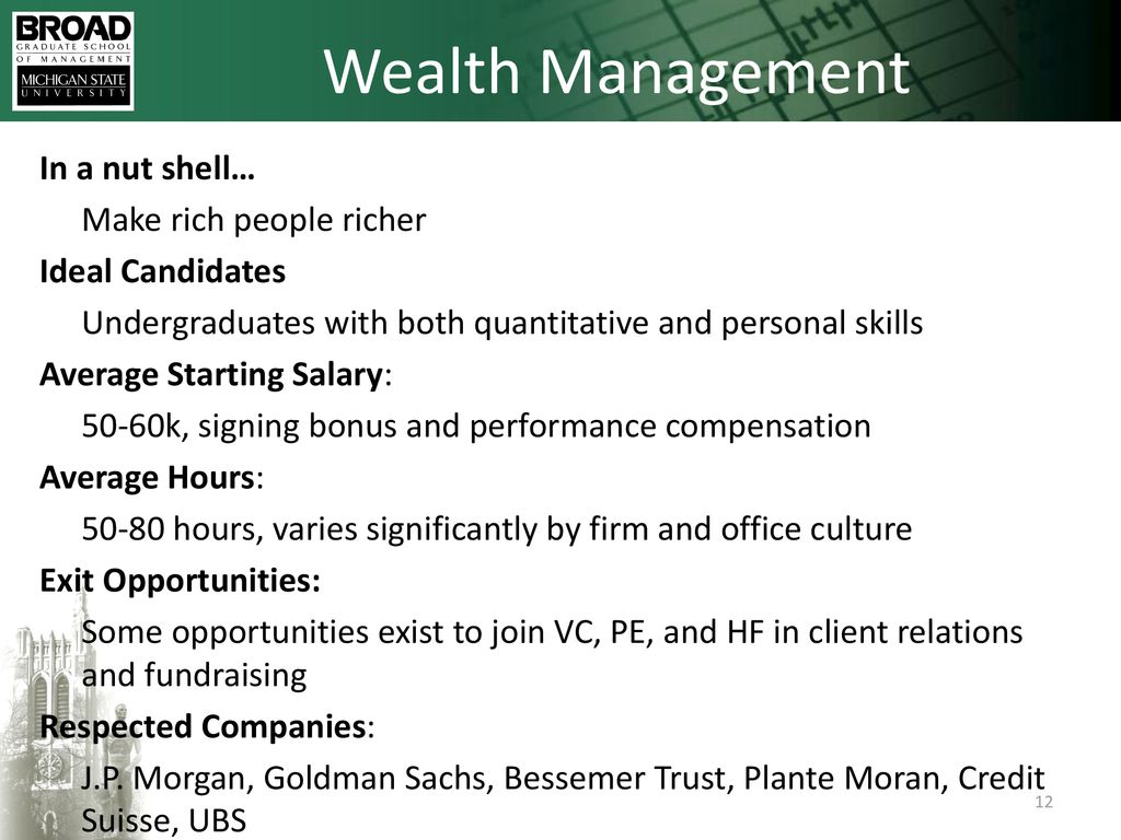 Careers in Finance 9/12/ ppt download