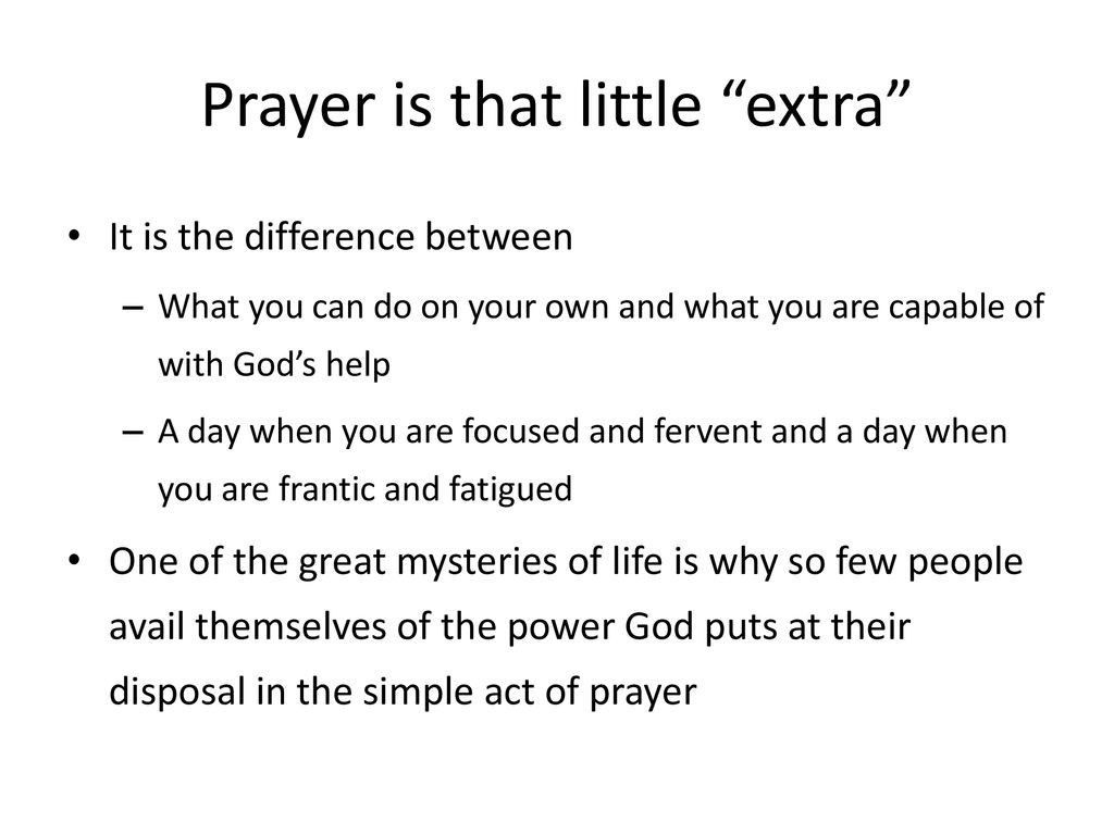 Growth Strategy #4 Prayer - ppt download