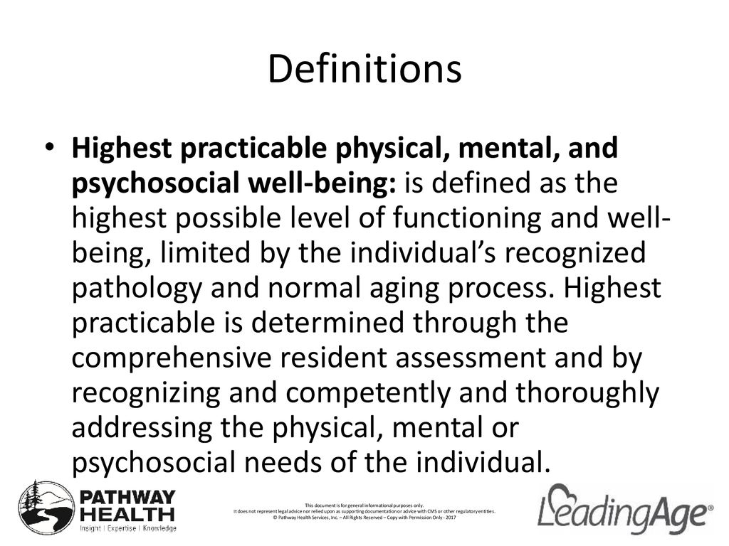 F740-F745 Behavioral Health and Dementia Care - ppt download