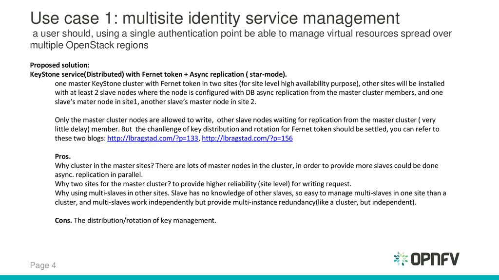 Multisite BP and OpenStack Kingbird Discussion - ppt download