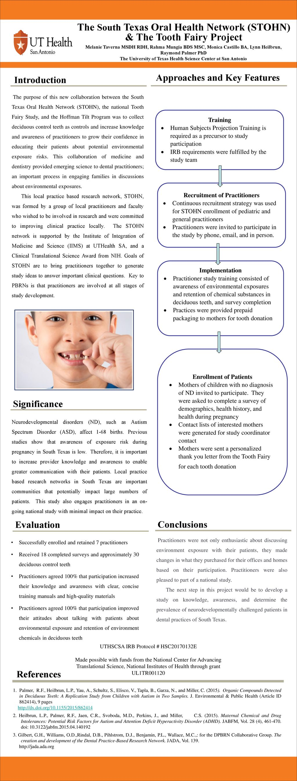 The South Texas Oral Health Network (STOHN) & The Tooth