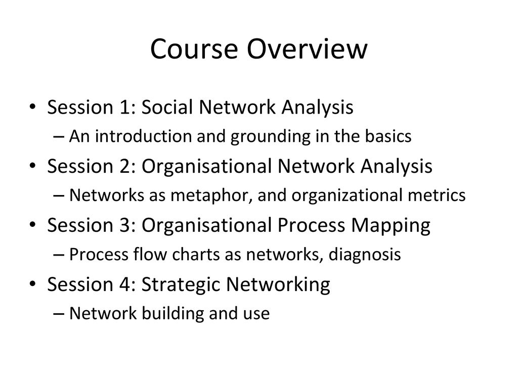 Social Network Analysis - ppt download