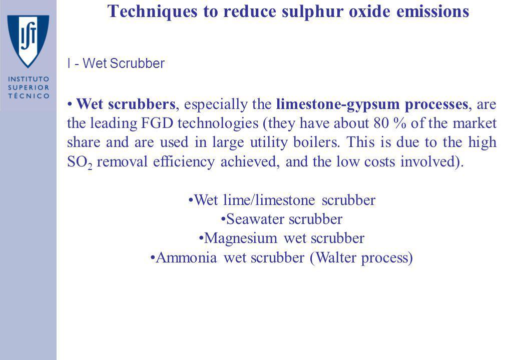 Techniques to reduce sulphur oxide emissions - ppt video online download