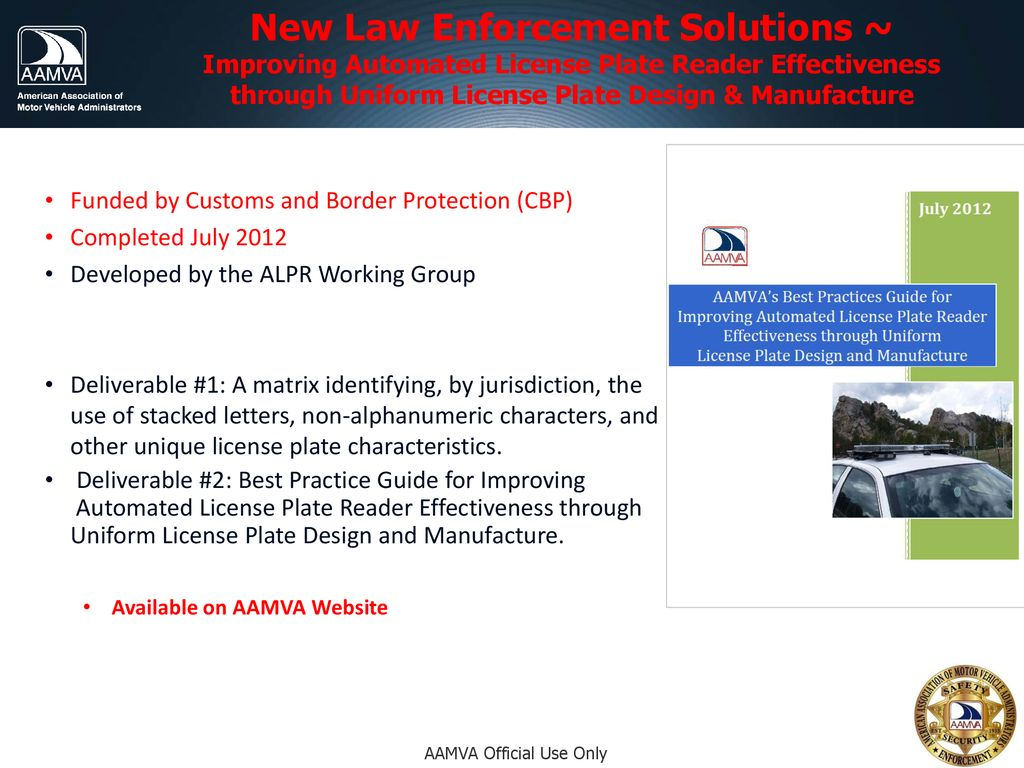 Law Enforcement, Judicial & DMV Information Sharing - ppt download
