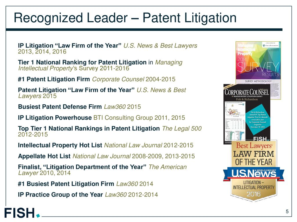 An Introduction to our Patent Litigation Practice - ppt download