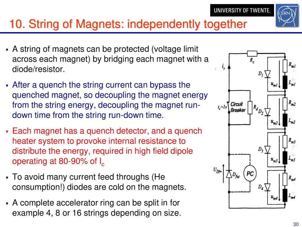 superconducting magnets quench propagation and protection - ppt download