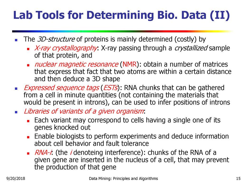 structure of bio data