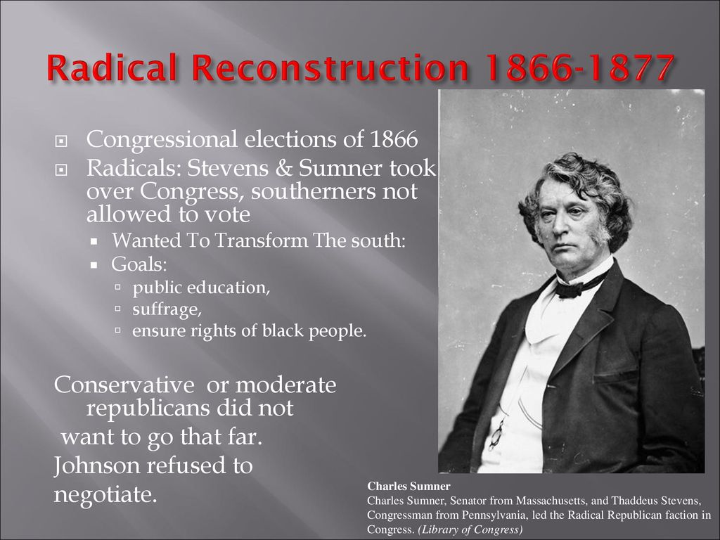 Image result for images of Stevens and Sen Charles Sumner 1868