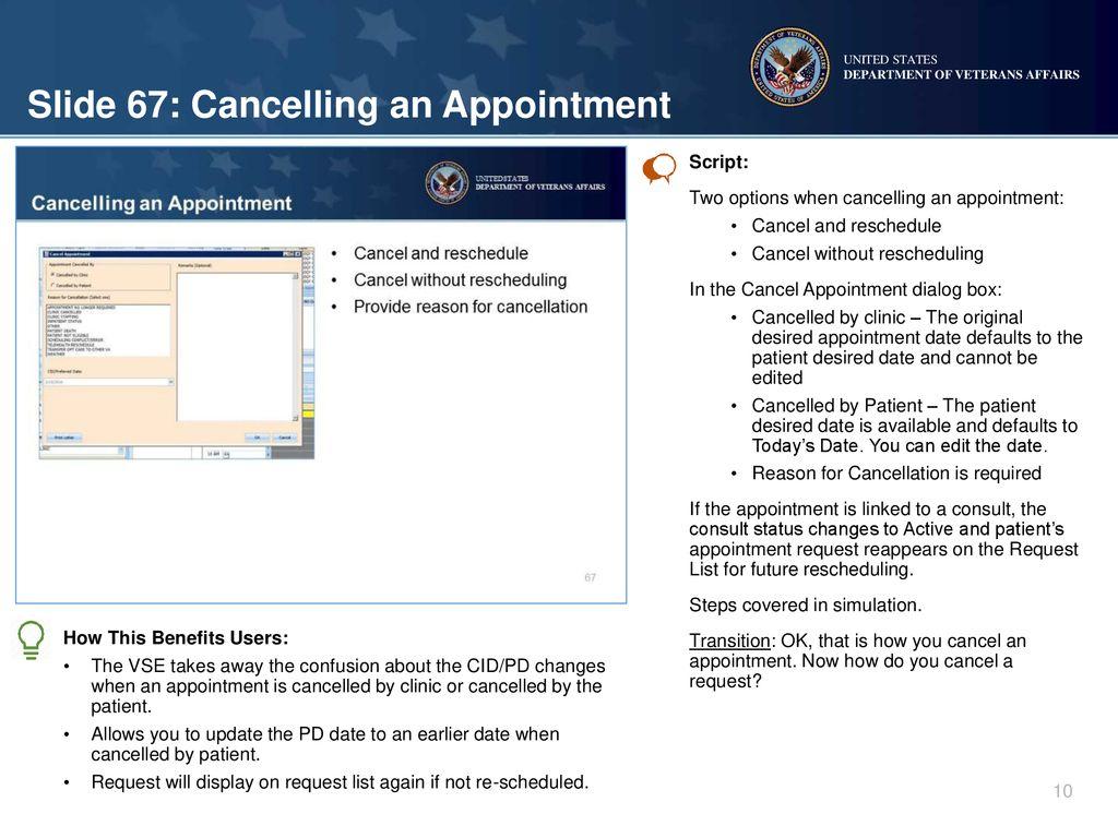 VistA Scheduling Enhancements (VSE) - ppt download