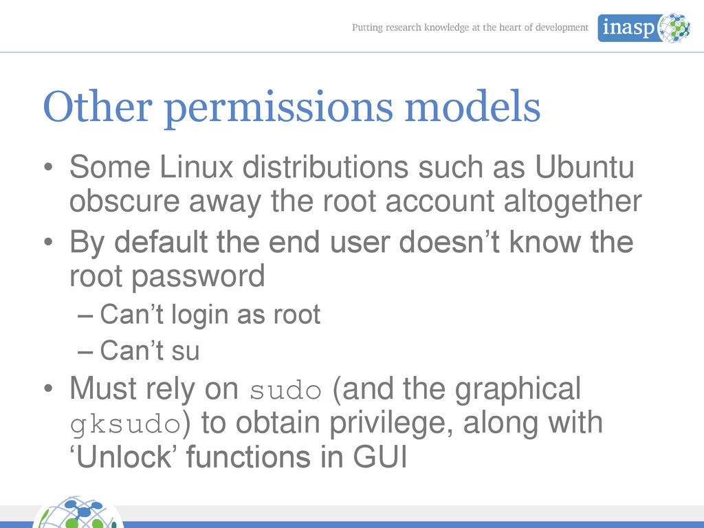 Linux Users and Groups Management - ppt download