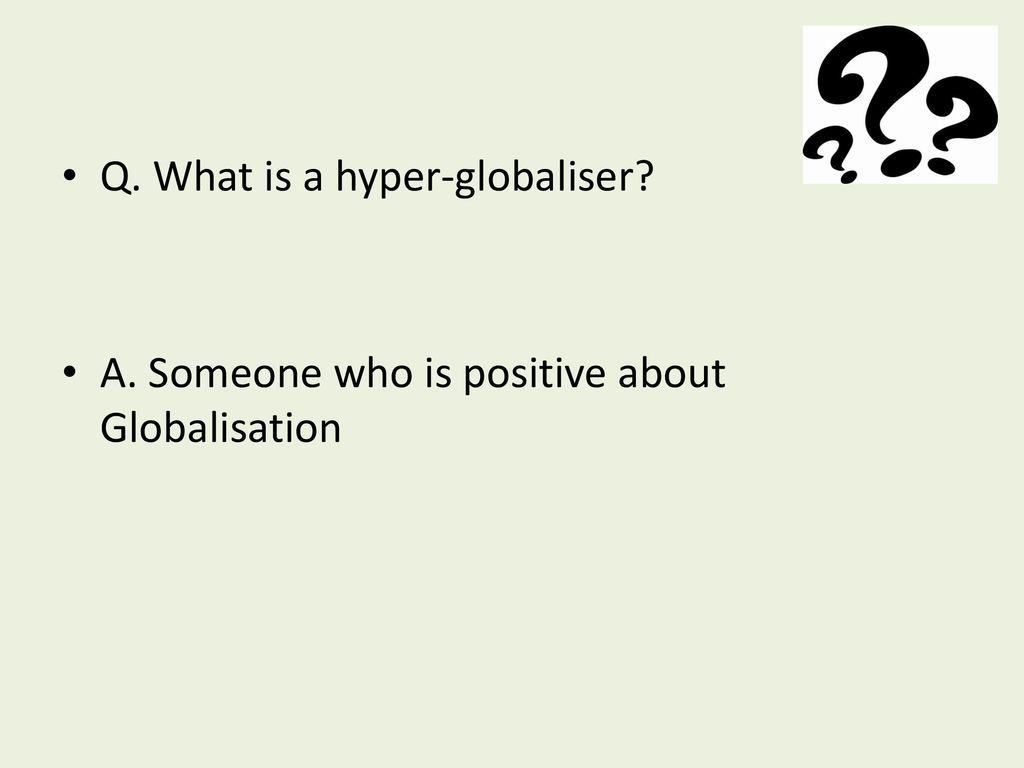 Q  Define Globalisation - ppt download