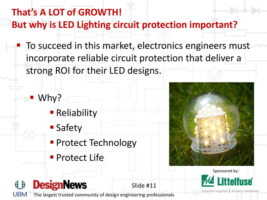 Keeping The Lights On Safeguard Led Lighting Ppt Download Lamps Circuit But Why Is Protection Important