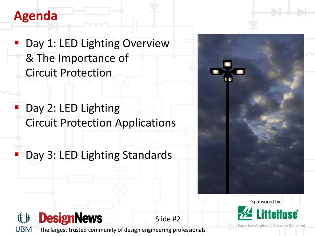 Keeping The Lights On Safeguard Led Lighting Ppt Download Lamps Circuit Agenda Day 1 Overview Importance Of Protection 2