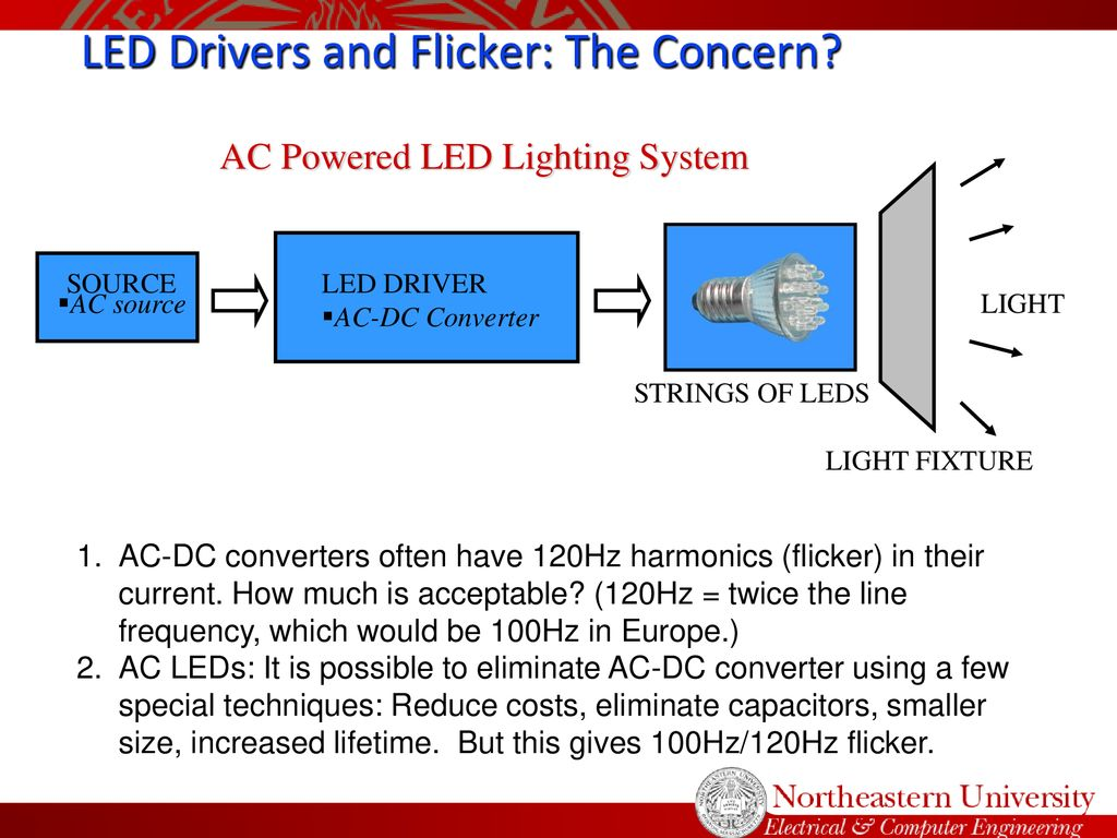 Power Electronic Drivers Influence On Led Light Flicker Ppt Download Boost Driver For Hb Leds 33