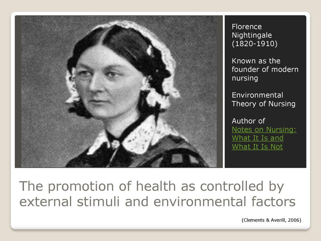 florence nightingale environmental theory of nursing