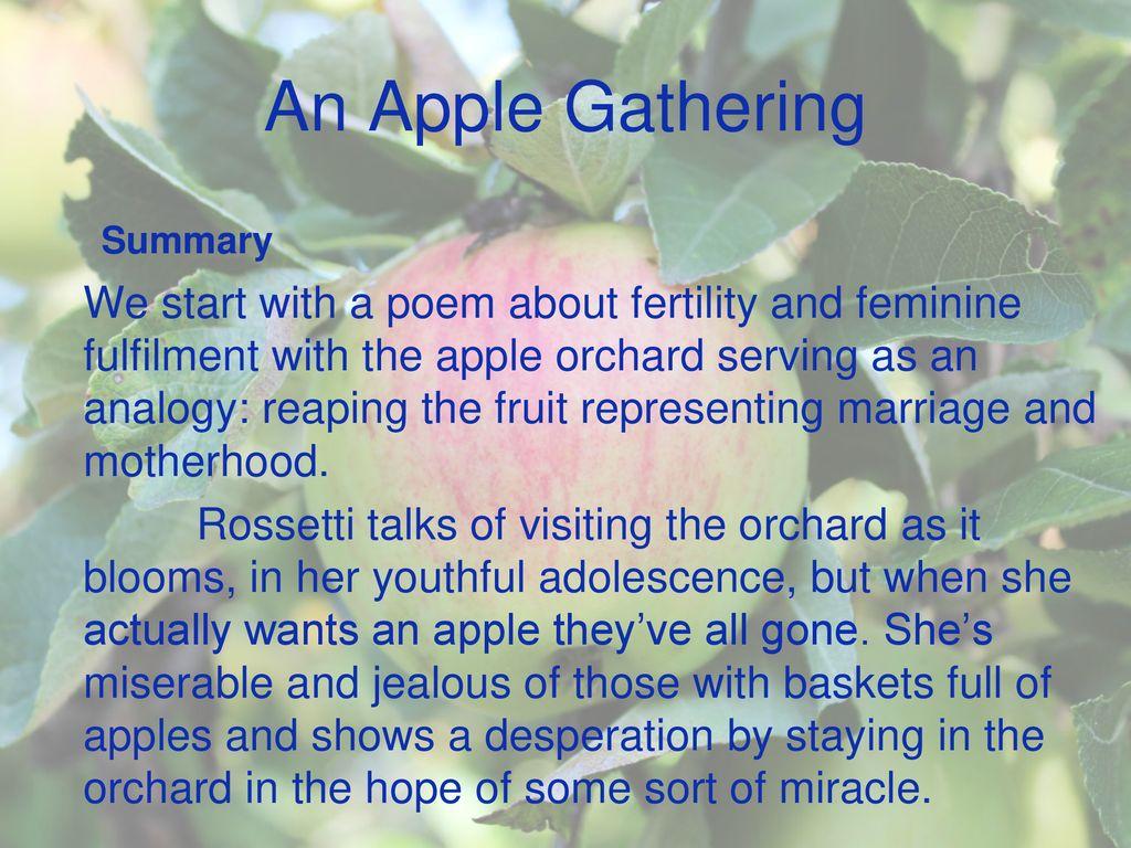 adolescence poem summary