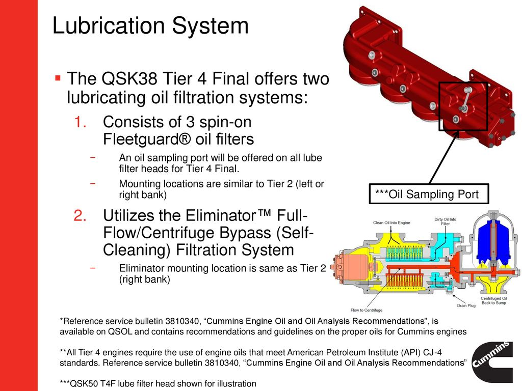 Qsk38 Tier 4 Final Oem Impact Presentation Ppt Download Cummins 3 9 Engine Diagram 19 Lubrication