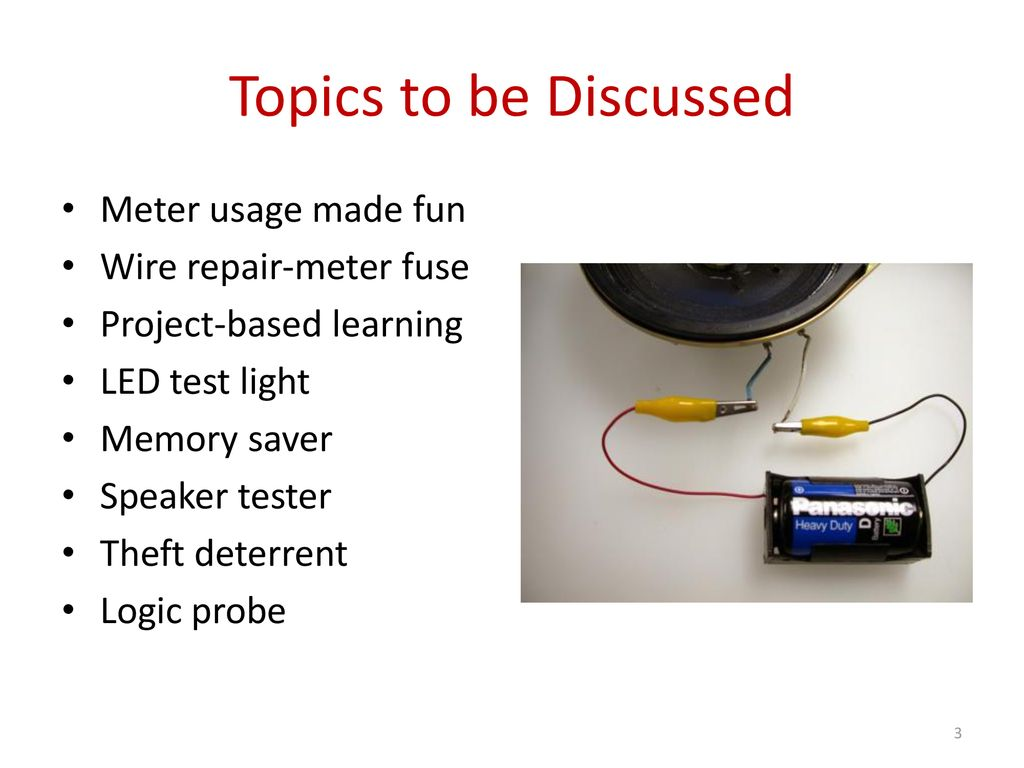 Have Fun Teaching Electrical Ppt Download Meter Fuse Box Holder Topics To Be Discussed Usage Made Wire Repair