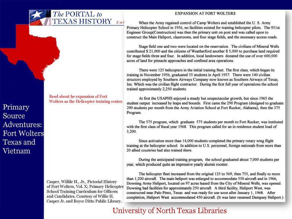 University of North Texas Libraries - ppt download