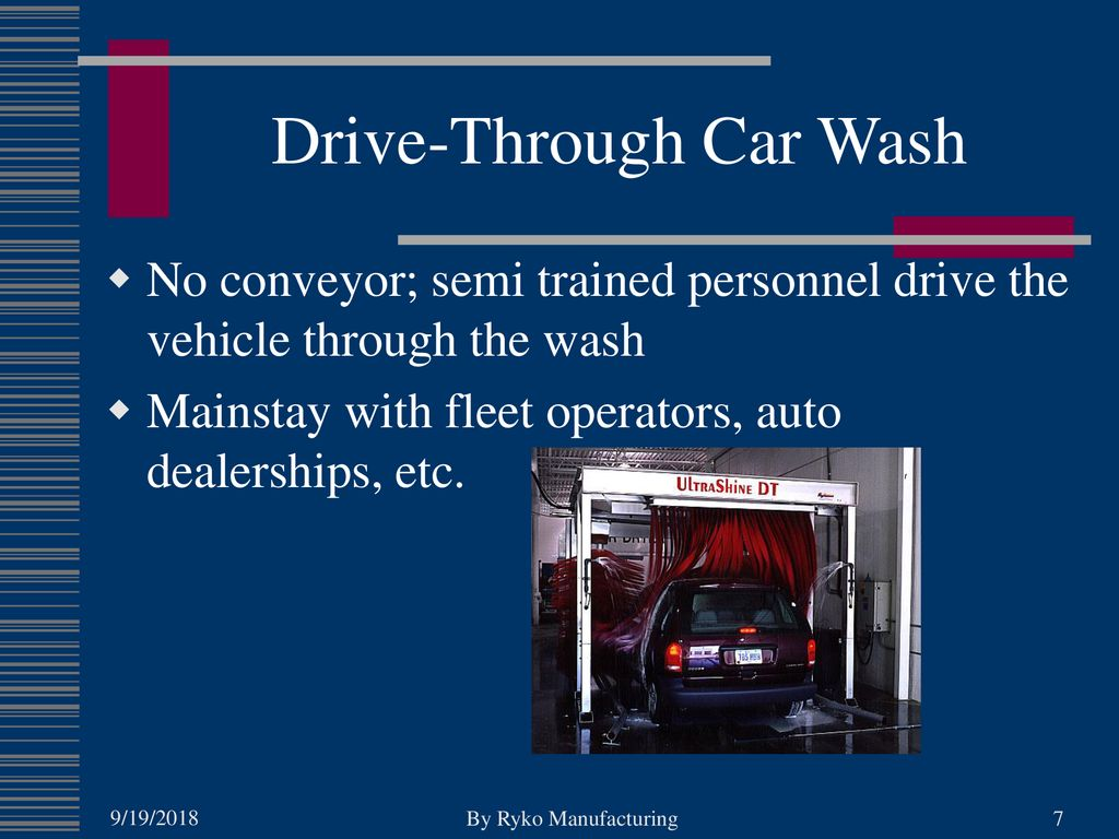 Choosing The Right Automatic Car Wash - ppt download