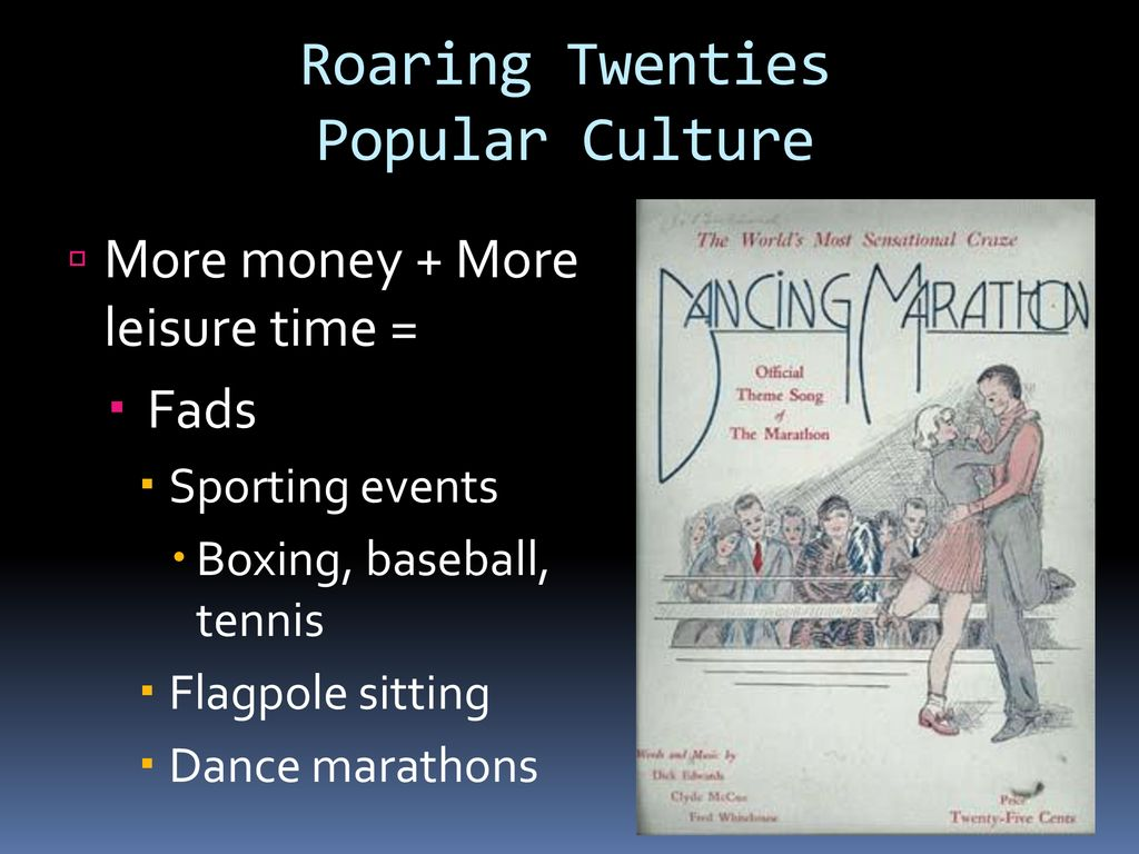 The Roaring 20's  - ppt download