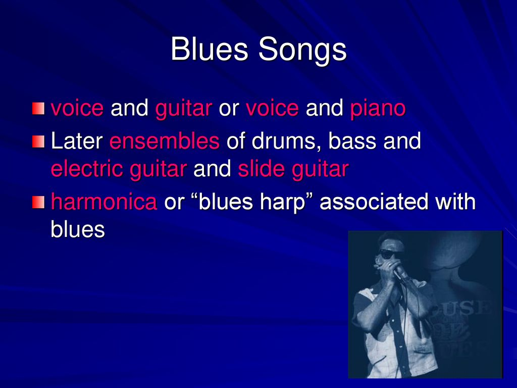 Jazz, Blues and Popular Music - ppt download