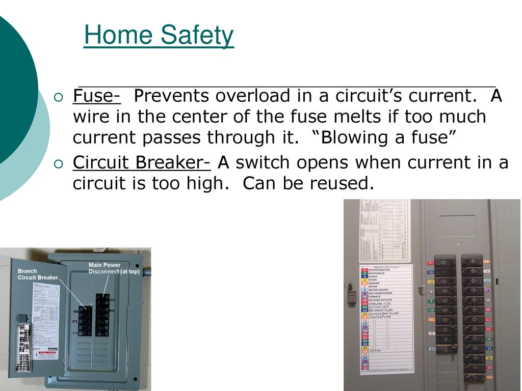 201 Electric Charge And Static Electricity Ppt Download Home Wiring Fuses Circuit Breakers Diagram Safety
