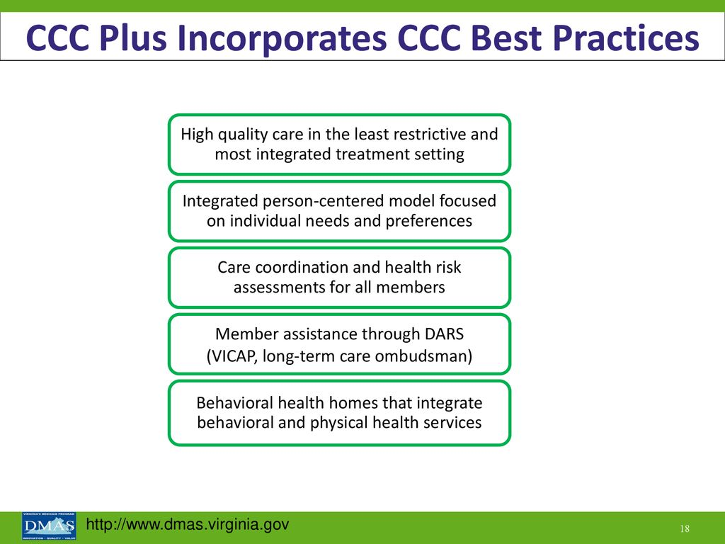 An Introduction to Commonwealth Coordinated Care Plus - ppt