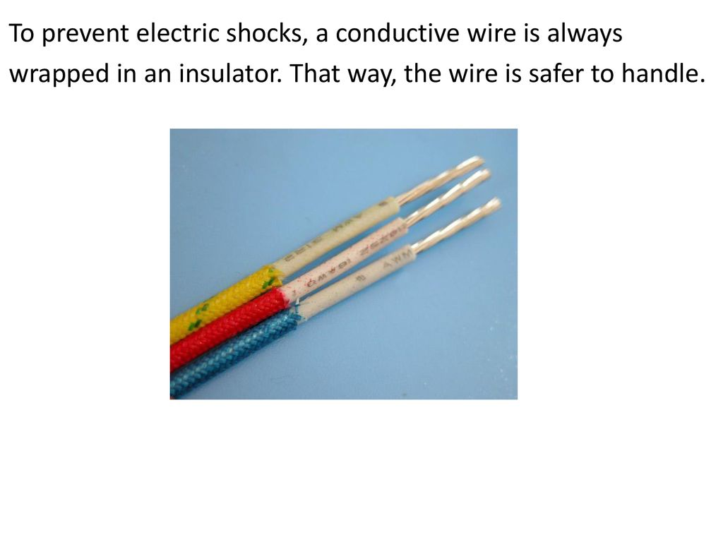 Conductors & Insulators - ppt download