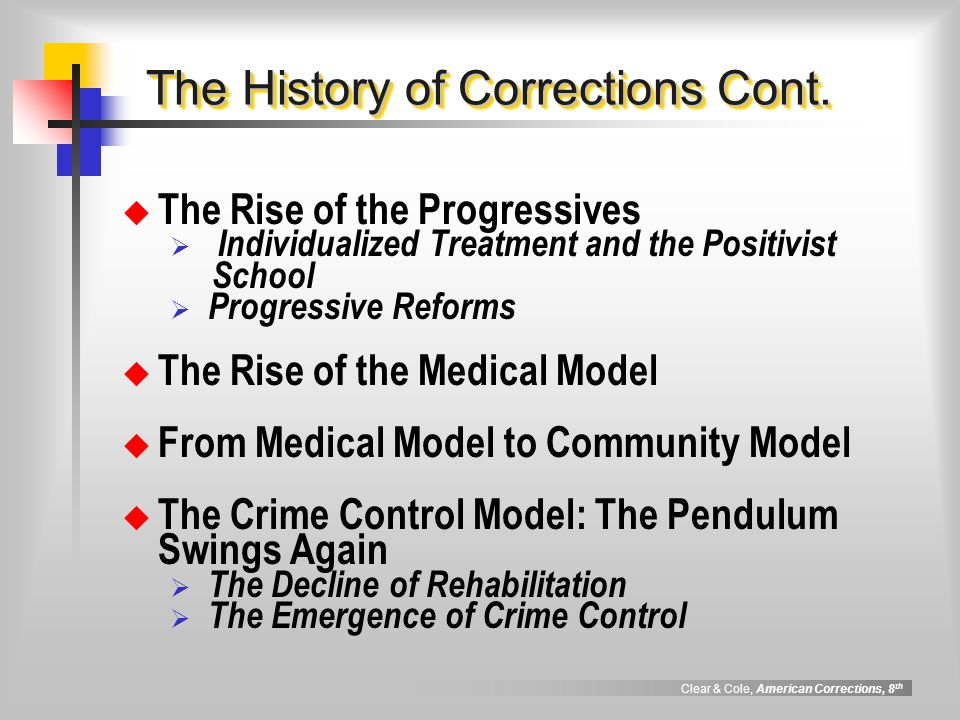 the crime control model Crime control model the (ccm) is known as assembly line justice with an ideology that hinges on the efficiency and effectiveness of the system and factual guilt (1) the ccm's primary goals are to protect society from crime and to control the community's behavior (2) this model has two values for.