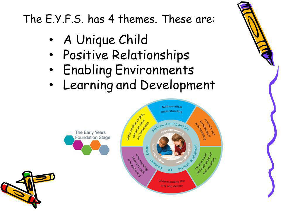 Positive Relationships Enabling Environments Learning and Development