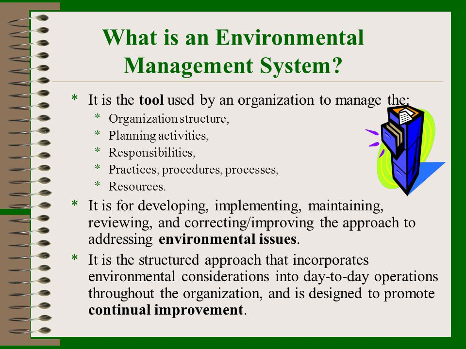 What is an Environmental Management System