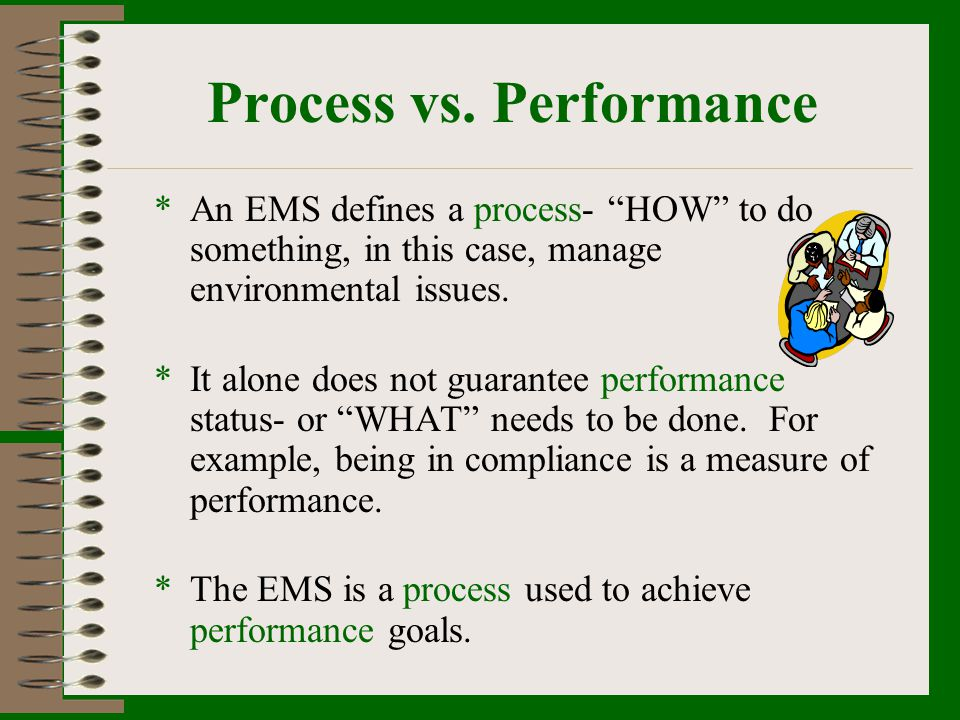 Process vs. Performance