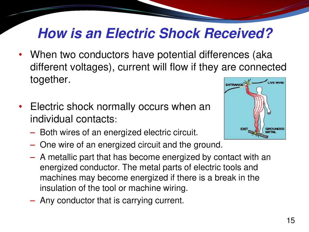 Electrical Hazard Awareness Training For Non Workers Electrocution After Installing Unsafe Temporary Power Connection How Is An Electric Shock Received