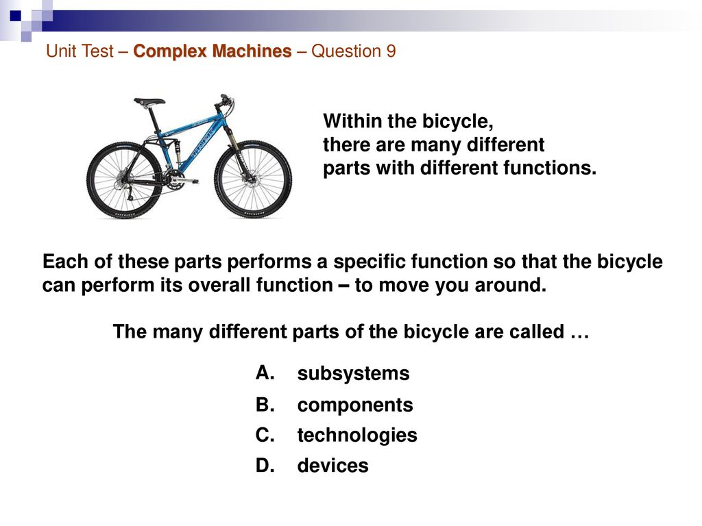Grade 8 - Mechanical Systems - ppt download