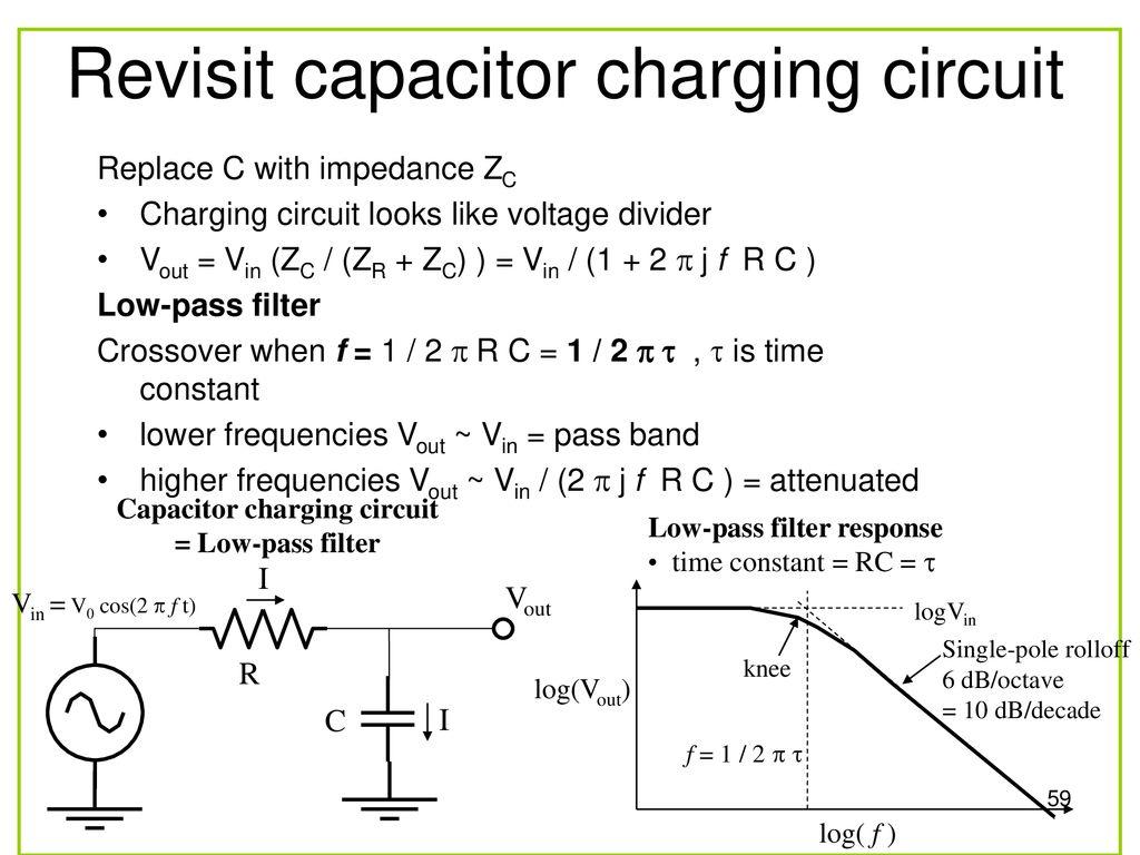 Faen 108 Basic Electronics Ppt Download Capacitor Charging Circuit Revisit