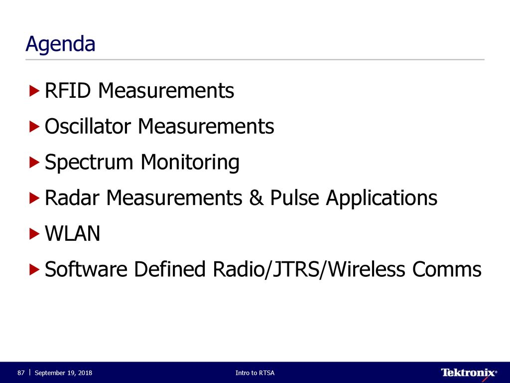Introduction to Real-Time Spectrum Analysis  - ppt download