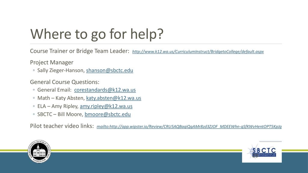 Bridge to College Project - ppt download