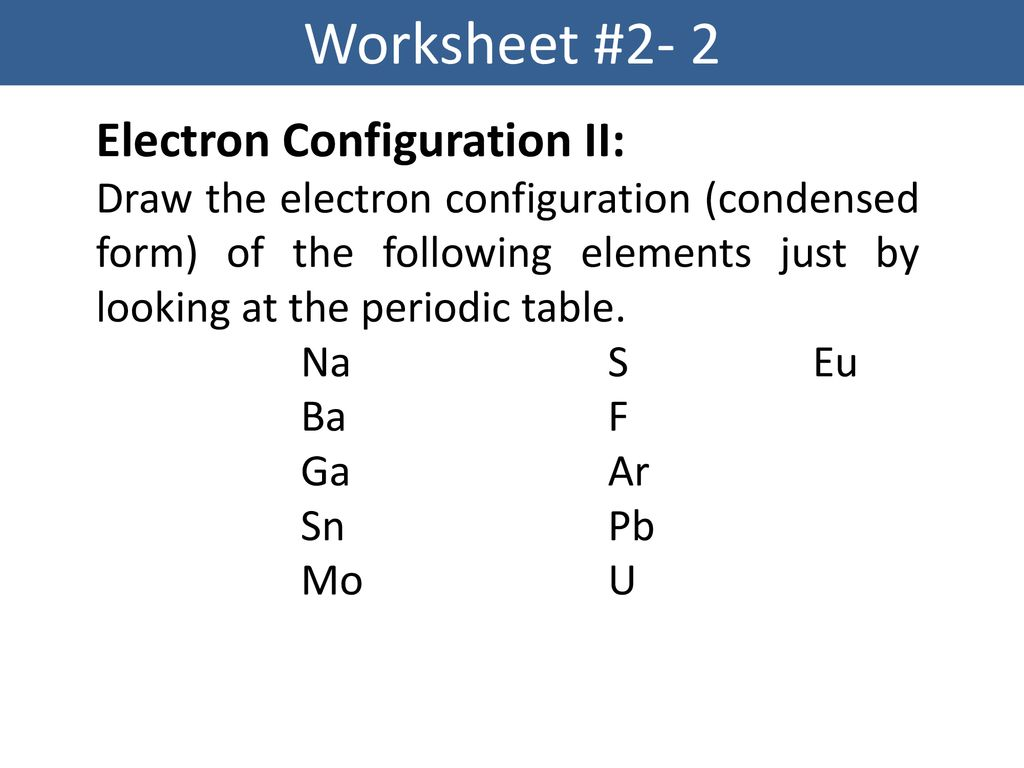 Electron Structure Of The Atom Ppt Download