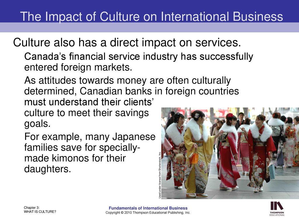 The impact of culture on mergers and acquisitions.