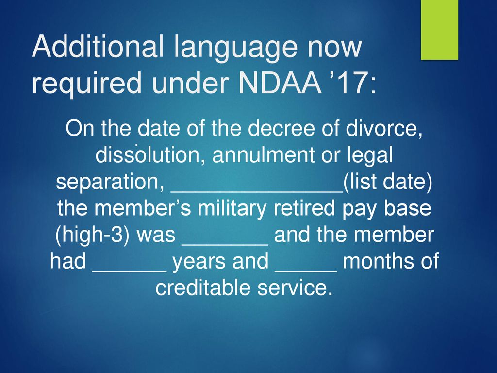 military divorce and dating