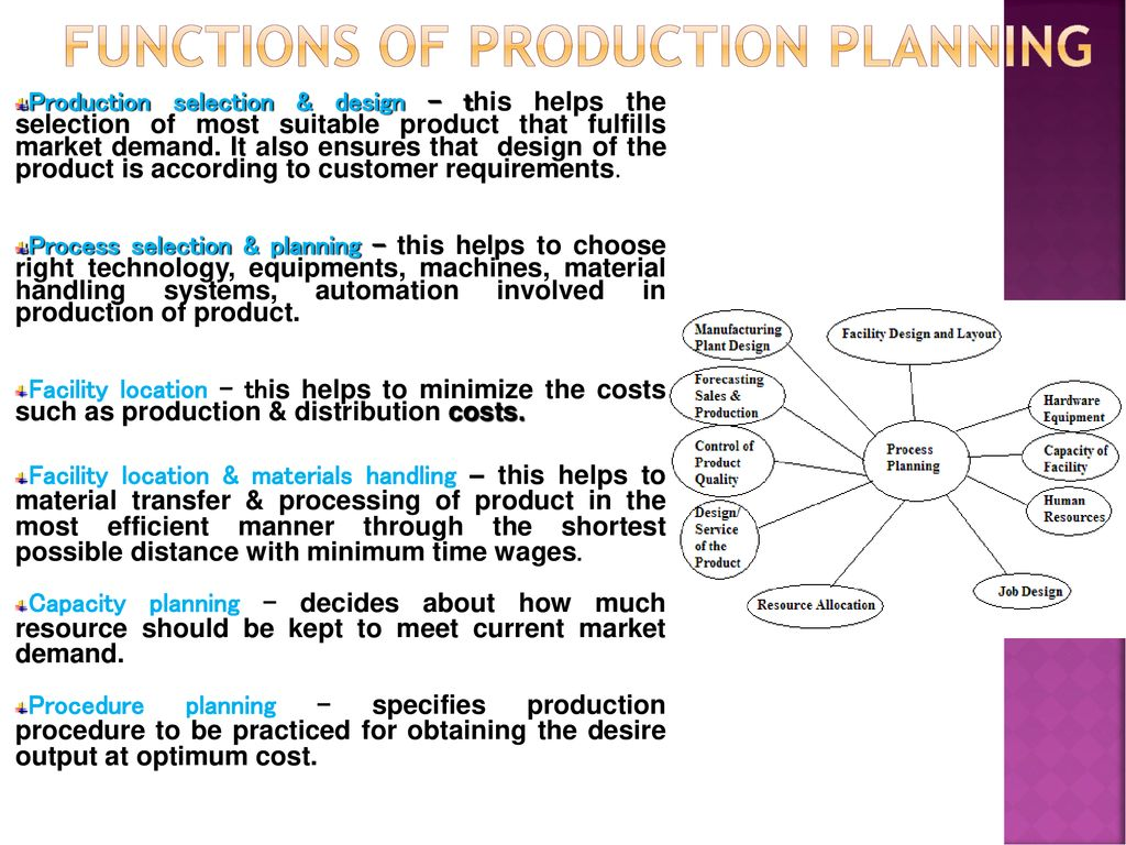 Production Planning and Control - ppt download