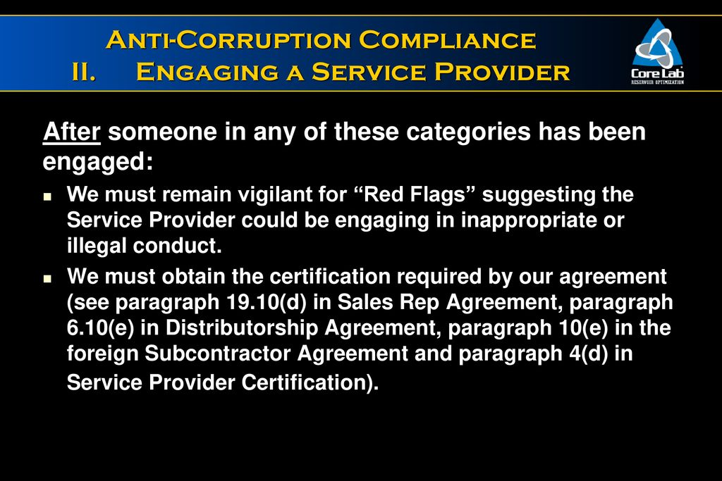 Anti Corruption Compliance Ppt Download