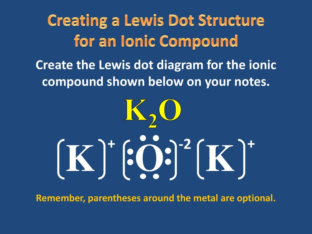 K2o Lewis Structure