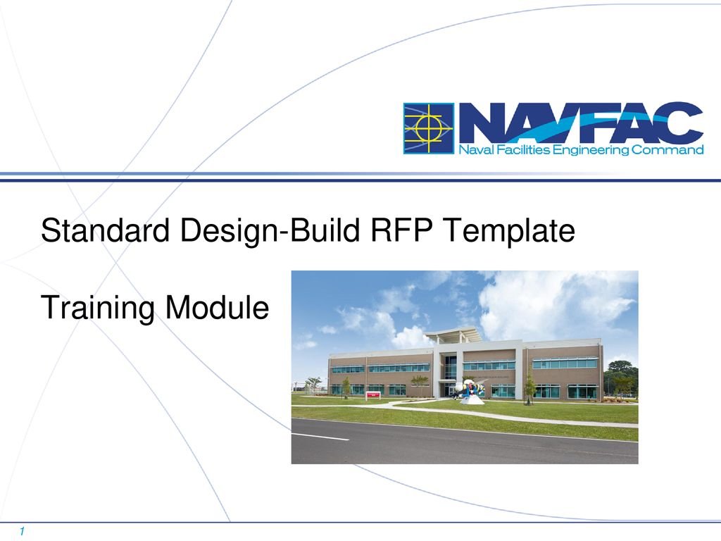 Standard Design Build Rfp Template Training Module Ppt