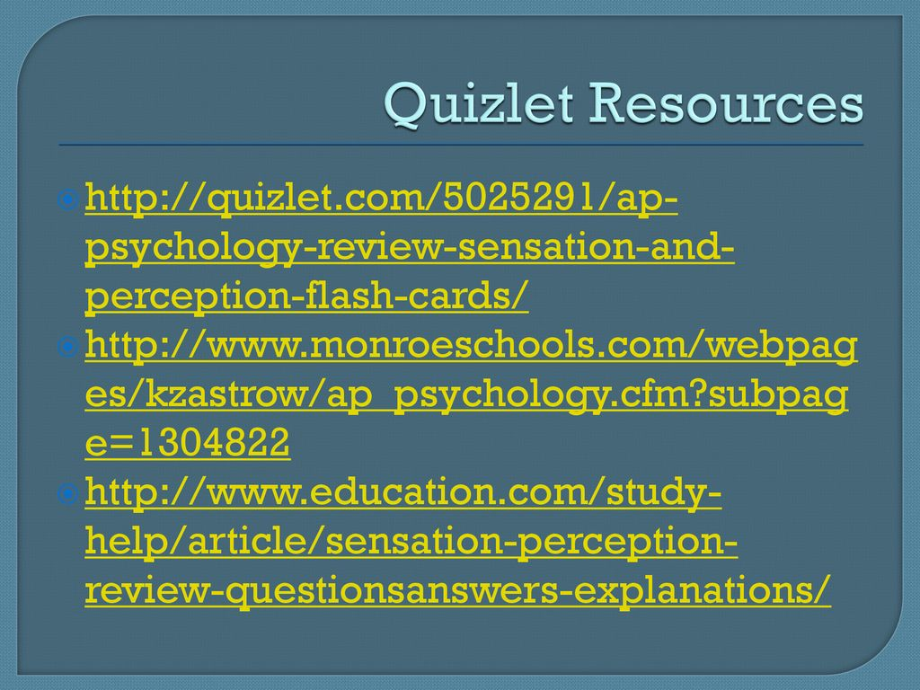 Perceived control psychology quizlet