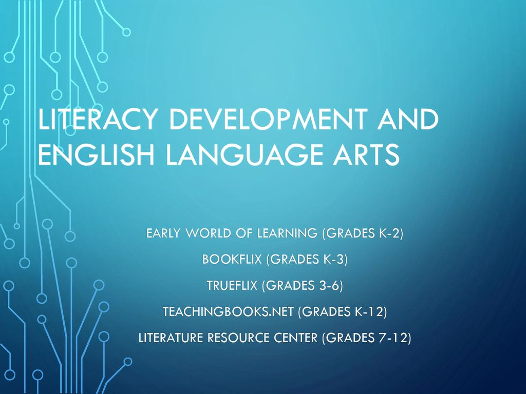 Supporting students in k 12 with the orc ppt download literacy development and english language arts fandeluxe Images