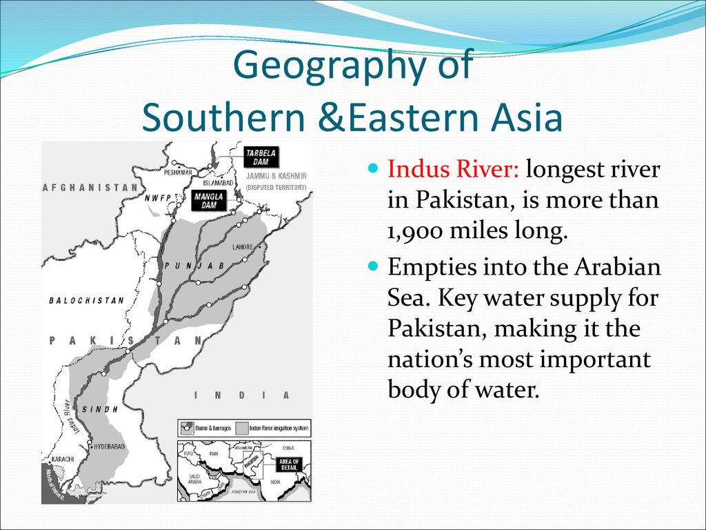 Asian rivers of pakistan what necessary