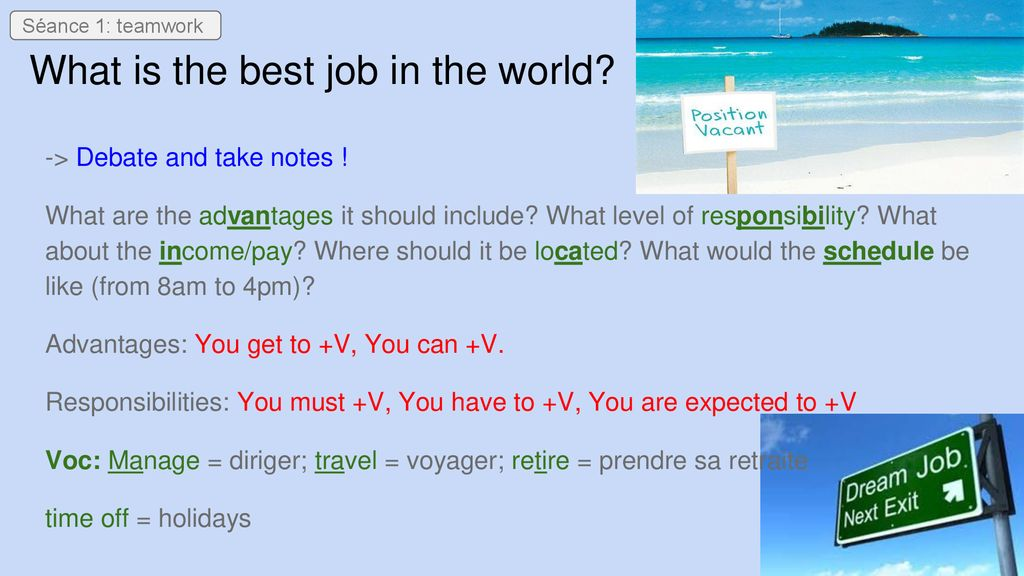 what are the best jobs
